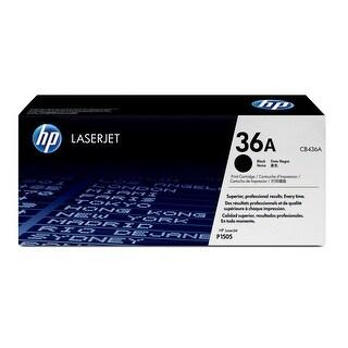 HP LaserJet P1505 Toner Cartridge HP 36A Black Original LaserJet Toner Cartridge CB436A