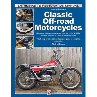 How to Restore Classic Off-road Motorcycles - Ricky Burns