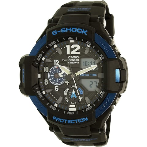 Casio G-Shock Black Dial Resin Quartz Men's Watch GA1100-2B