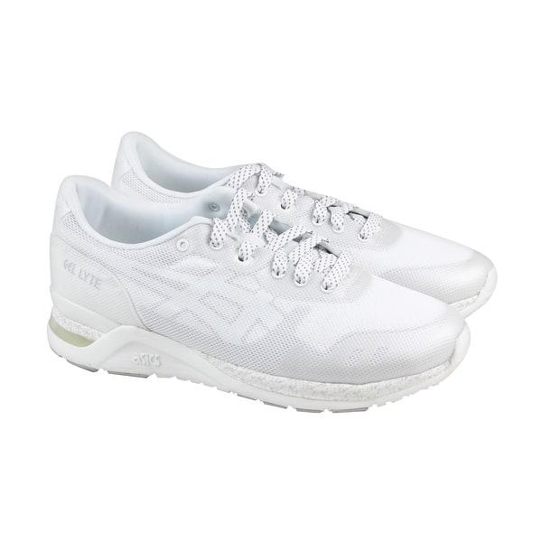 premium selection 1ffde b3a42 Shop Asics Gel Lyte Evo Nt Mens White Mesh Athletic Lace Up ...