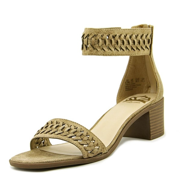 Fergalicious Phoenix Women Open Toe Leather Tan Sandals
