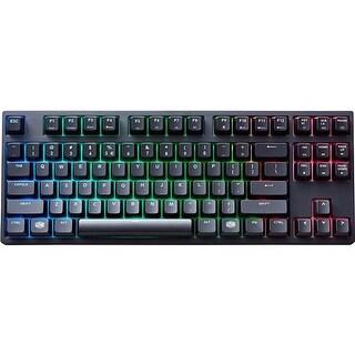 """""""Cooler Master USA Masterkeys Pro S Keyboard-Brown Mechanical Keyboard"""""""