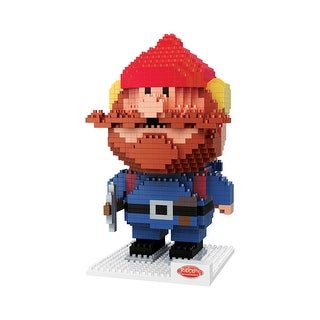 Rudolph the Red-Nosed Reindeer Yukon Cornelius 3D BRXLZ Puzzle - multi
