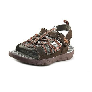 Osh Kosh Spear-B Youth Open-Toe Synthetic Brown Fisherman Sandal