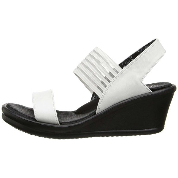 cc861786edf Shop Skechers Womens Rumbler Sci-Fi Open Toe Casual Platform Sandals ...