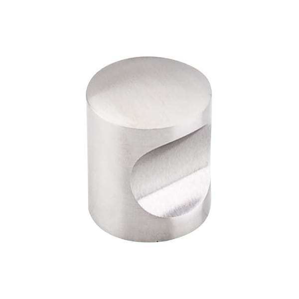 Top Knobs SS22 Stainless Steel 1 Inch Diameter Cylindrical Cabinet Knob