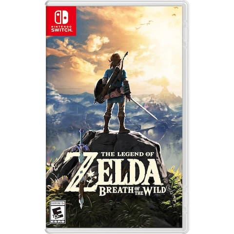 The Legend of Zelda: Breath of the Wild Standard Edition - Nintendo Switch