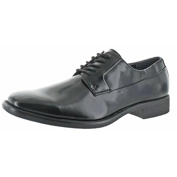 Calvin Klein Men's Edison Smooth Leather Oxfords Shoe