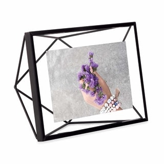 """Umbra 313016  Prisma 8"""" x 6"""" Steel Free Standing Picture Frame"""