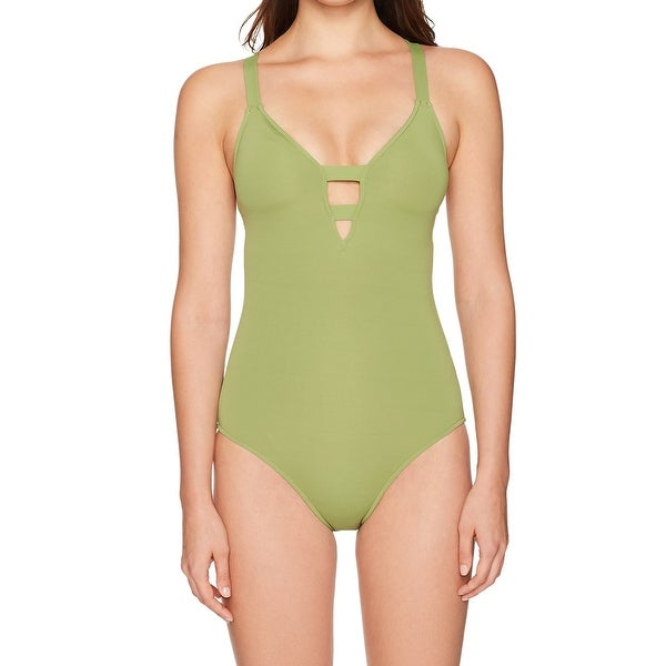 1d36328b36 Shop Seafolly Women's AUS 12 One-Piece Strappy Swimwear - On Sale ...