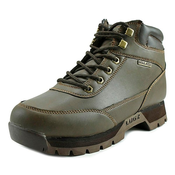 Lugz Scavenger Men Round Toe Synthetic Brown Boot