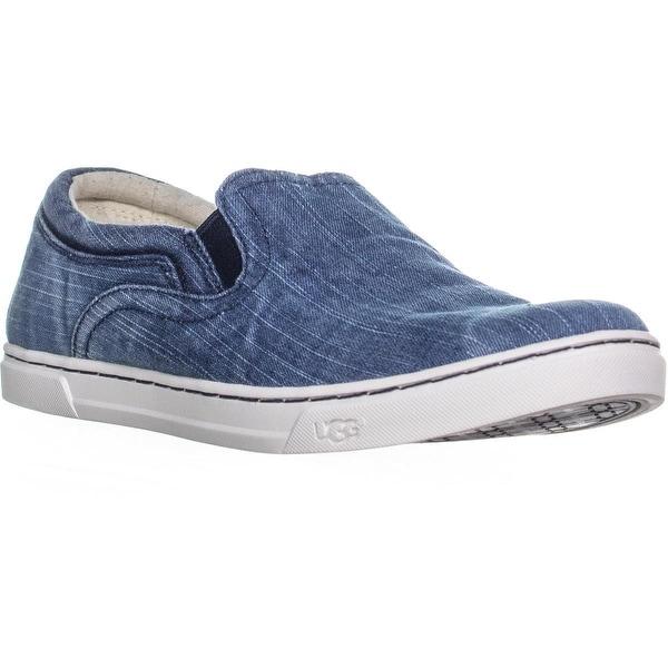 98b42aadff7 Shop UGG Australia Fierce Slip On Sneakers, Washed Denim - 9.5 us ...