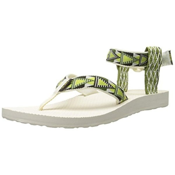 Teva Womens Flat Sandals Printed Thong