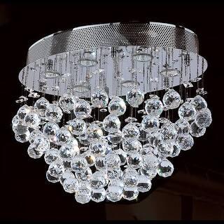 4f069ed75e4 Worldwide Lighting W33232C20 Icicle 6 Light 20