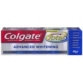 Colgate Total Toothpaste Advanced Whitening 4 oz