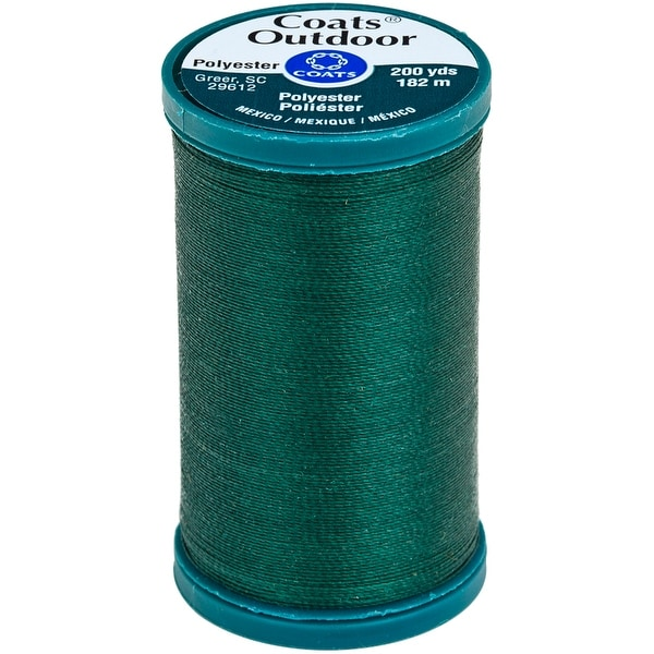 Outdoor Living Thread 200yd-Scots Green