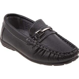 Josmo Boys' O-19119B Loafer Black