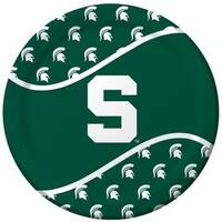 Michigan State Spartans Dinner Plates