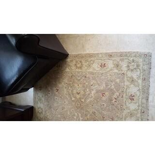 Safavieh Handmade Antiquities Treasure Brown/ Gold Wool Rug (9'6 x 13'6)