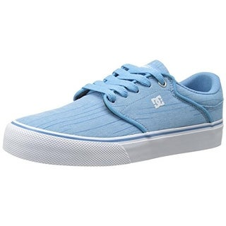 DC Womens Mikey Taylor Vulc Canvas Low Top Skateboarding Shoes