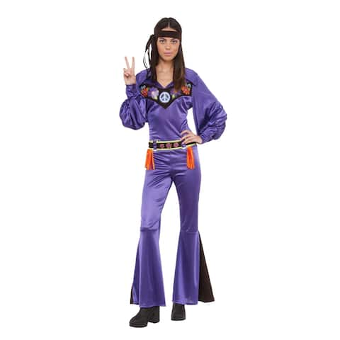 Womens That 70's Babe Cher Costume size Standard 10-14 - Standard (10-14)