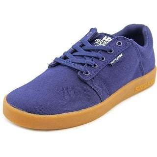 Supra Kids Westway Round Toe Canvas Sneakers