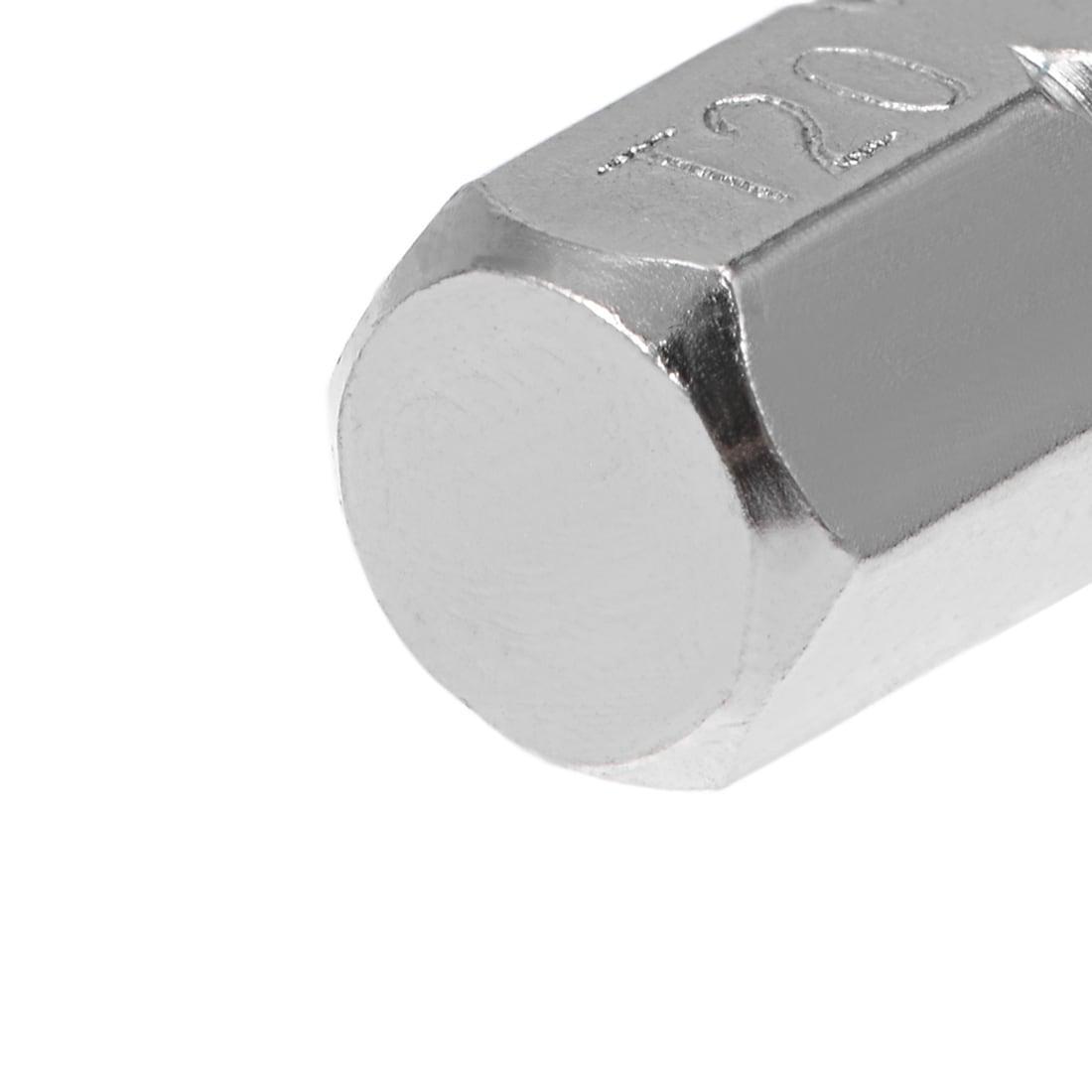 Faithfull Security S2 Grade Steel Screwdriver BitsT20Sx25mm Pack 3