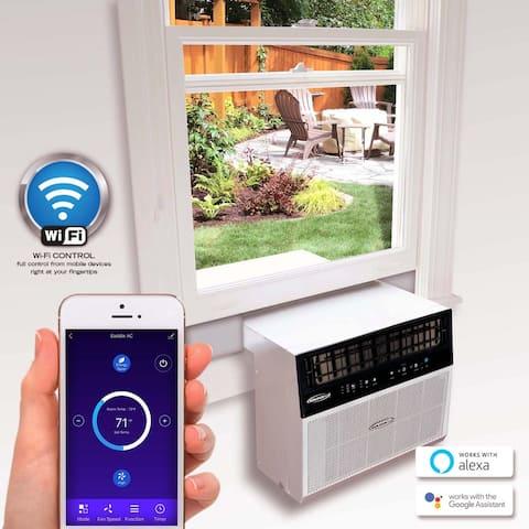 Soleus Air 6,000 BTU Hybrid (Saddle) Window Air Conditioner with Wifi