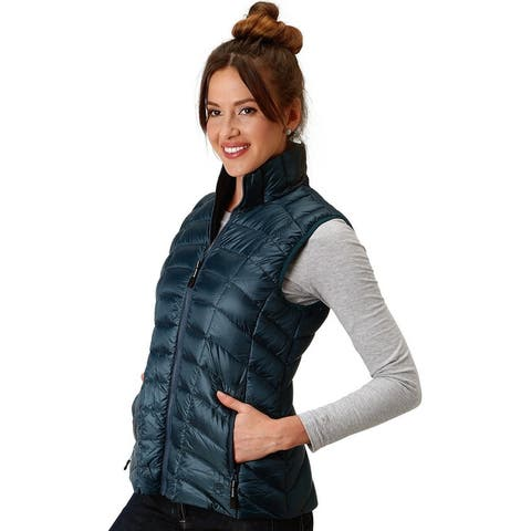 Roper Western Vest Womens Down Filled Lightweight