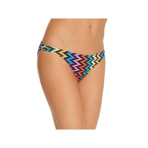 Milly Womens St. Lucia Printed Hipster Swim Bottom Separates