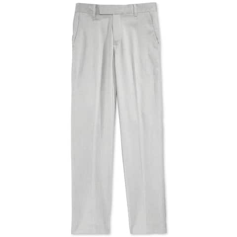 Calvin Klein Boys Tick Weave Casual Trousers - 14