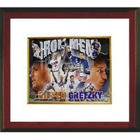 Wayne Gretzky unsigned Cal Ripken Jr signed Ironman 16x20 Custom Framed MLB Hologram