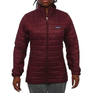 Patagonia Women Women's Nano Puff Jacket Puffer Dark Currant