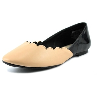 Wanted Kristy   Round Toe Synthetic  Flats