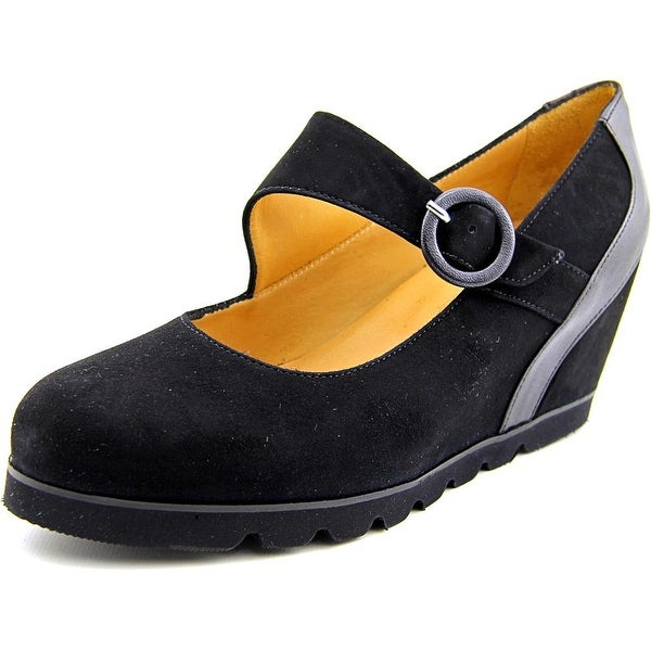 Firenze.Studio Joy Women Round Toe Suede Mary Janes