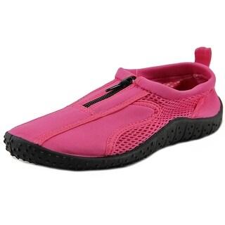 Rockin Footwear Zipper Round Toe Synthetic Water Shoe
