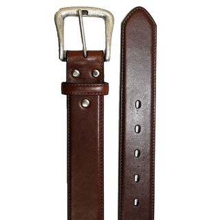Nocona Western Belt Mens Smooth Leather Smooth Rich Brown N2450002 (Option: One Size Fits Most)