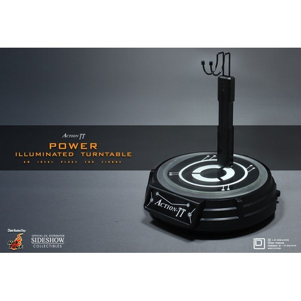 Hot Toys Illuminated Turntable 1:6 Scale Figure Stand