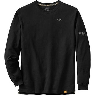Legendary Whitetails Mens Be Still Long Sleeve Tee - Black