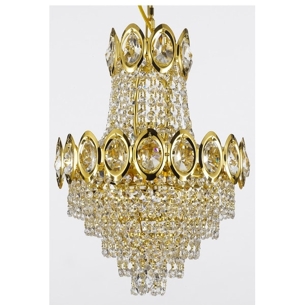 French Empire Crystal Chandelier Light Lighting Fixture