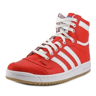 Adidas Top Ten Hi J Youth Round Toe Synthetic Red Sneakers