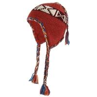 American Rag Women's Tribal Print Knit Winter Trapper Hat - One size