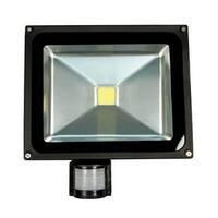 Cool White LED 20 Watt Security Flood Light with Sensor