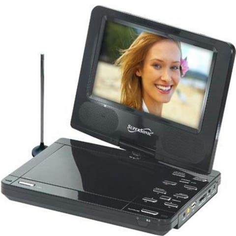 Supersonic SC-259 9 Inch Portable Dvd Player