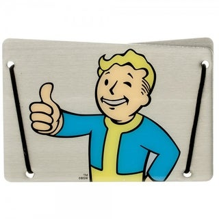 Fallout Aluminum Card Wallet