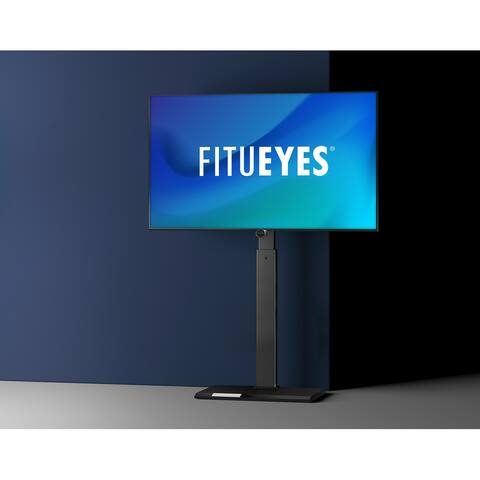 FITUEYES Iron Base Swivel Floor TV Stand Mount for TVs Up to 55 - 26 -55 INCHES