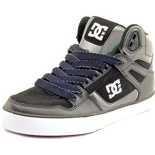 DC Shoes Spartan High WC SE Round Toe Canvas Skate Shoe