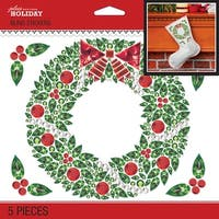 Bling Christmas Wreath - Jolee's Boutique Dimensional Stickers