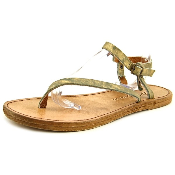 Matisse Greek Women Open Toe Leather Thong Sandal