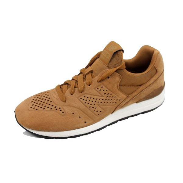 New Balance Men's 696 Deconstructed Tan Suede MRL696DL